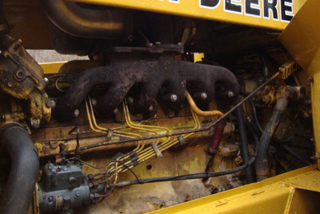 construction equipment engine parts